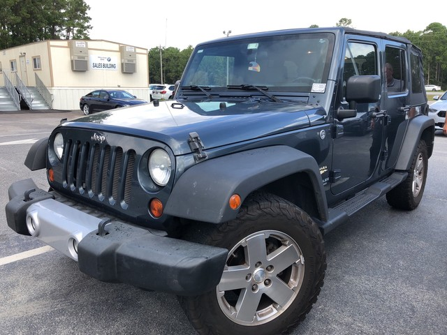 Pre Owned 2008 Jeep Wrangler Unlimited Sahara * Local Trade In * 4 Wheel