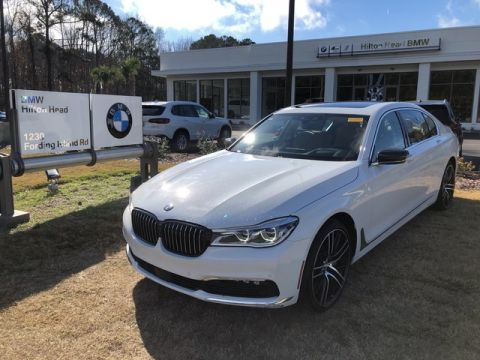 Certified Pre-Owned 2017 BMW 7 Series